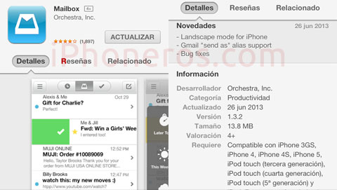 Nuevo Mailbox 1.3.2
