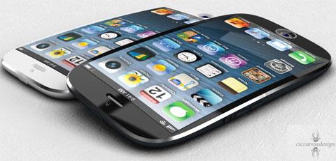 iPhone ovalado