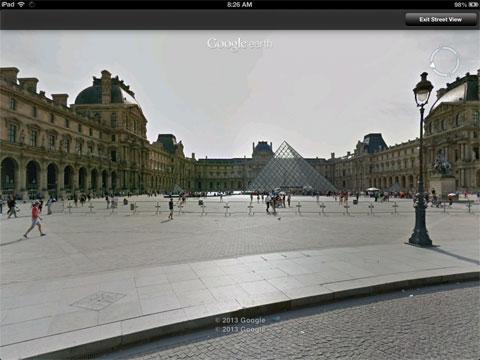 StreetView en Google Earth