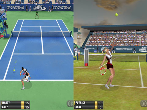TouchSports Tennis 2012