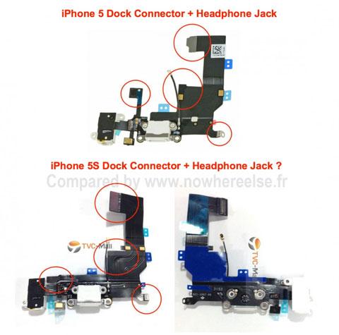 Supuestas piezas del próximo iPhone