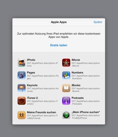 Apps gratuitas recomendadas en la App Store Alemana desde iOS 7 beta 3
