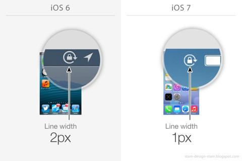 Cambios en iOS 7