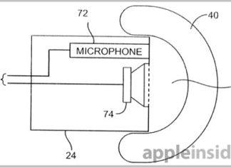 Patente auriculares de Apple