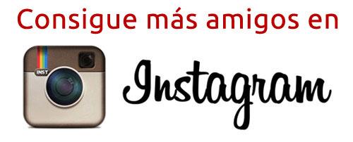 Consigue más amigos en Instagram