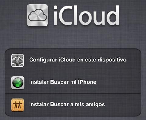 iCloud para iPhone