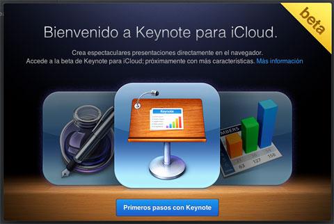 Keynote en iCloud