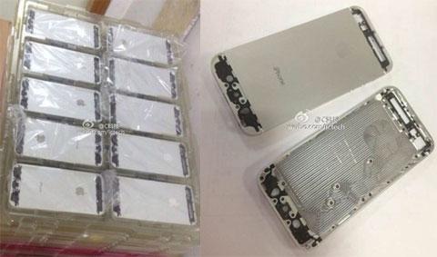 Supuestas partes del nuevo iPhone