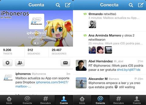 Twitter de iPhoneros.com