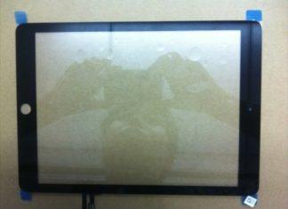 Supuesto panel frontal del iPad 5