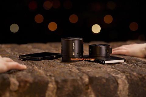 Posible lente-cámara de Sony