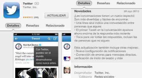 Twitter 5.10