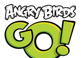 Logo de Angry Birds Go