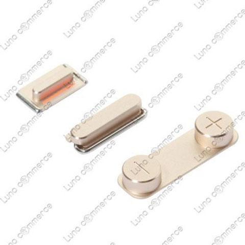 Botones dorados del supuesto próximo iPhone 5S