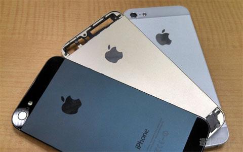 Supuesta carcasa color Champán del iPhone 5S