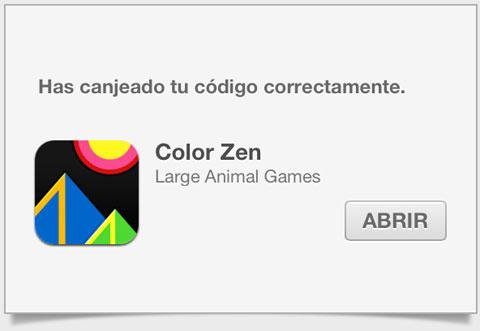 Color Zen descargada