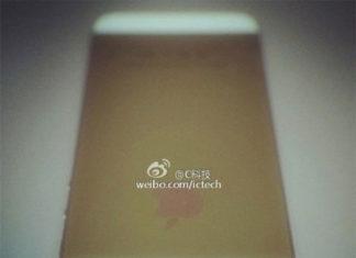 Render del iPhone 5S dorado