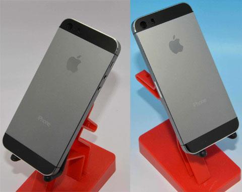 Supuesta carcasa del supuesto iPhone 5S en supuesto color grafito ;)