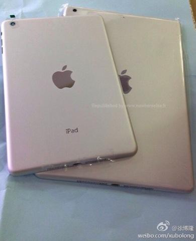 Supuesta carcasa de un iPad de quinta generación