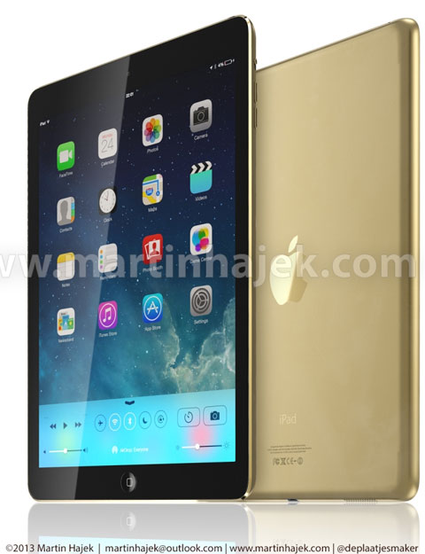 iPad 5 color oro