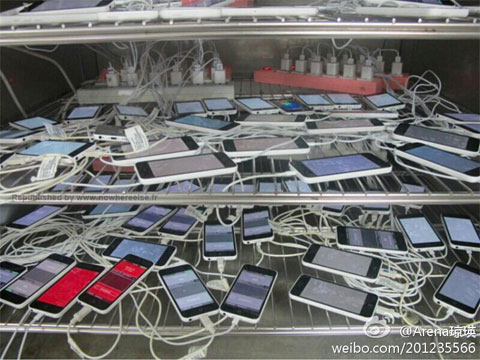 Supuestos iPhone 5C en Pegatron
