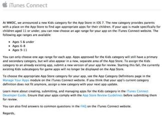 Email enviado por Apple
