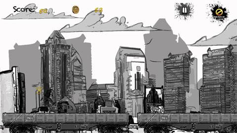 Sketch Man Subway Sprint : Comic Dash for Survival Elite Version