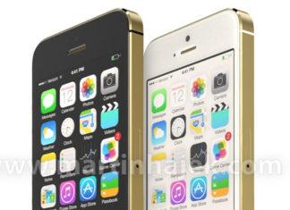 iPhone 5S en dorado, blanco y negro