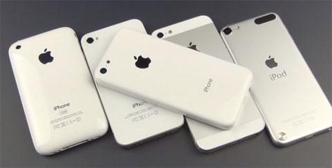 Montaje de los diferentes modelos dei Phone