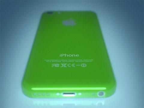 Concepto de diseño del iPhone 5C Verde