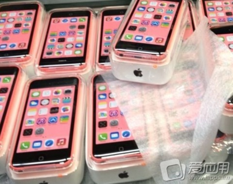 Supuestas cajas del iPhone 5C