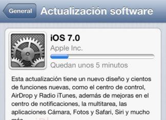 Actualización a iOS 7