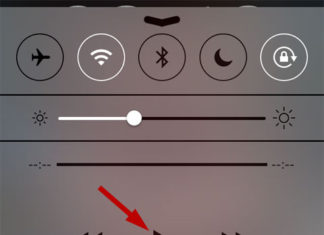 Controles de Música