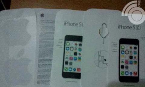 Supuesta documentación del iPhone 5C