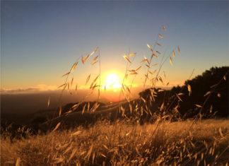 Foto de una puesta de Sol hecha con el iPhone 5S