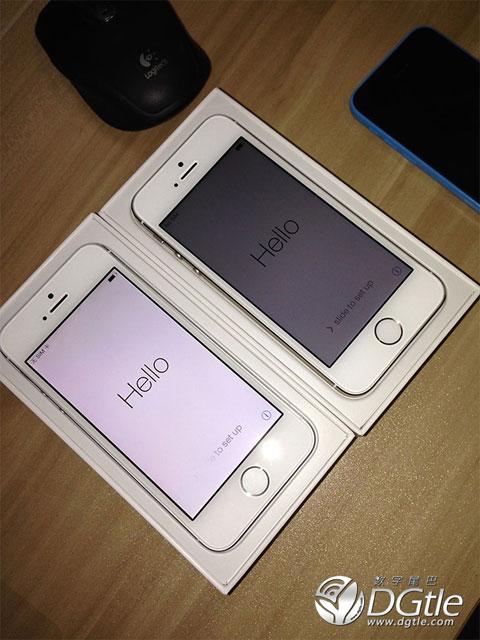 iPhone 5S diciendo Hello ;)