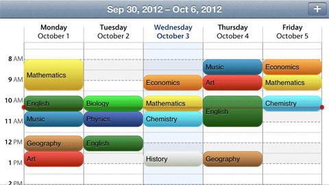 Classes – Schedule