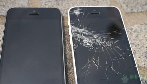 El iPhone 5C no pasa la última prueba