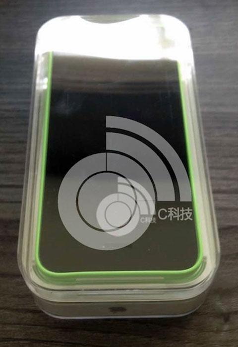iPhone 5C en verde