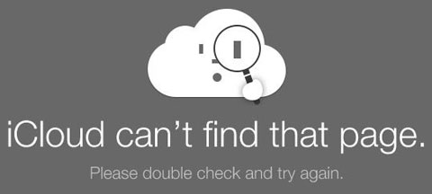 No existe esa secuencia en iCloud