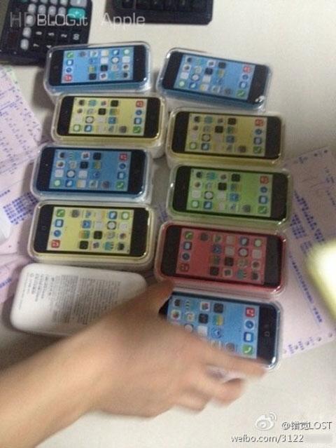Cajas de iPhone 5C