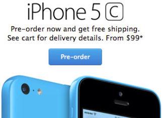 Reservas del iPhone 5C en la web de Apple