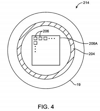 Sensor de huellas dactilares embebido en un botón