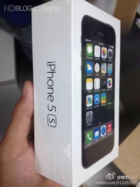 Unboxing del iPhone 5S