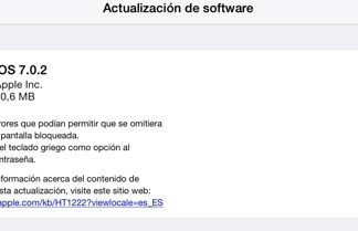 iOS 7.0.2 para iPad
