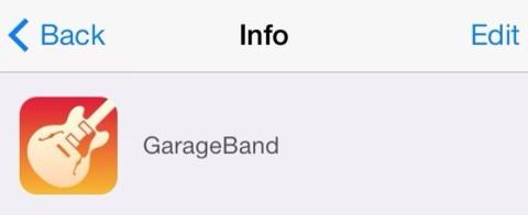 Nuevo icono de GarageBand