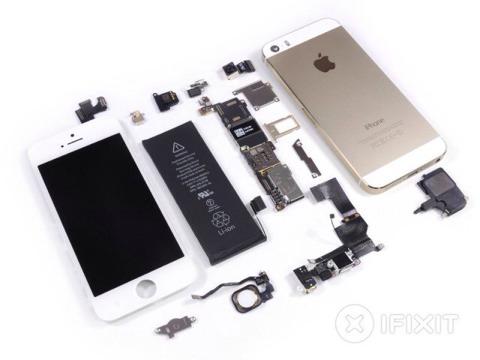 Componentes del iPhone 5S