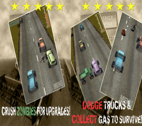 A Monster Truck Road Warrior in Zombie City - Pro