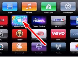 Evento de Apple en el Apple TV