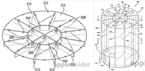 Patente del cilindro de la Apple Store de Shanghai
